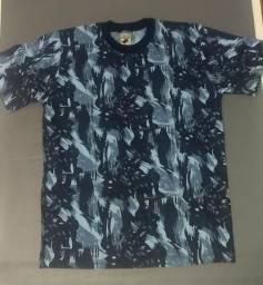 Camisetas Camufladas Azul