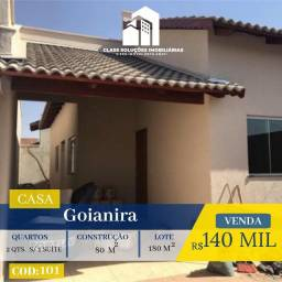 Casa De 2 Quartos - Em Goianira
