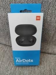 Barato! Redmi Air Dots da Xiaomi.. Fone sem fio lacrado com garantia