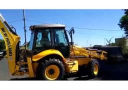 Retro Escavadeira New Holland B90B (ENT+PARC)