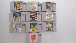 Jogos originais Nintendo 64