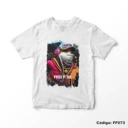 Camiseta Infantil Free Fire