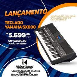 Teclado Yamaha Sx600 lançamento