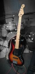 Baixo + fender + contra baixo 5c fender jazz bass