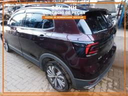 Sucata Volkswagen T-Cross 1.0 128cv 3cc Flex Aut 2020 (Somente Peças)