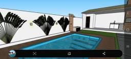 Excelente casa com 3 quartos e garagem no Jardim Atlântico!