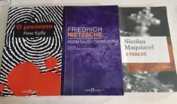 Livros de ciências políticas e filosófia (usados no curso de direito epara vestibulares)