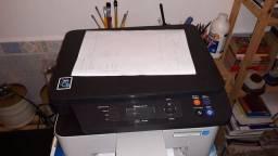 Impressora desbloqueada multifuncional Samsung Wifi m2070w  4077 pág