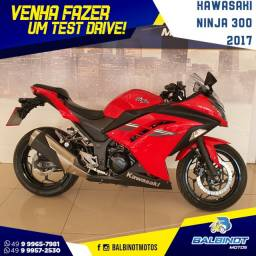 Título do anúncio: Kawasaki Ninja 300 2017 Vermelha