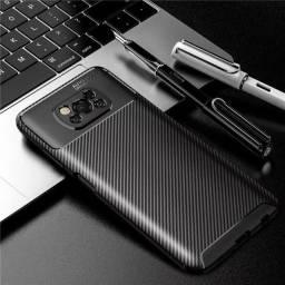Título do anúncio: Capa Case TPU Preta Xiaomi Poco X3 NFC / X3 Pro Pronta Entrega