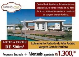 Loteamento fechado de Alto Padrão - Vargem Grande Paulista - Lotes a partir de 500 m2.