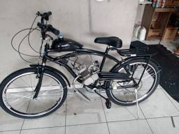 Bicicleta motorizada okm show