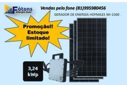 Kit de Energia solar Hoymiles MI-1500 3,24 kWp