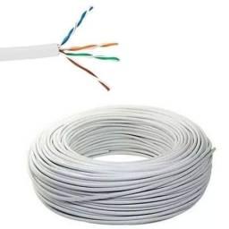 Cabo para rede,internet,xbox cor branca (R$ 1,80 o metro)