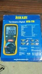 Título do anúncio: Terrômetro digital Hikari HTR 770