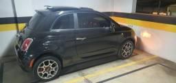 FIAT 500 2014 FLEX TODOS OS OPCIONAIS IMPECÁVEL