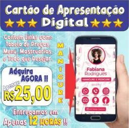 Cartão de Apresentação Digital