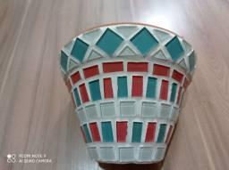 Título do anúncio: Vaso de mosaico
