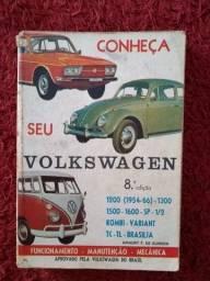 Título do anúncio: Livro Conheça seu Volkswagem