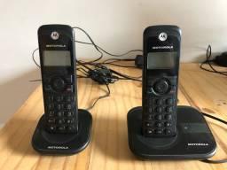Telefone sem fio com extensão Motorola; excelente estado ;