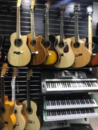 Violão, Guitarra, Teclado e Acordeon