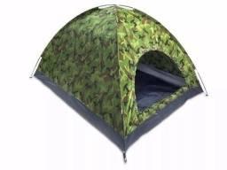 Título do anúncio: Barraca Camping 3 Pessoas Iglu Tenda Acampamento Bolsa<br><br>