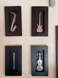 Quadros Musicais tipo caixa