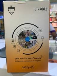 Título do anúncio: Câmera Ip Giratória Automática V380 Visão Noturna Wireless