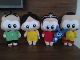 Kits bonecos e personagens em feltro - vários temas