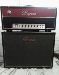 Título do anúncio: Cabine Vintage 212 140-Watts Stereo para Guitarra com Alto-falantes Originais Exc Estado
