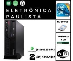Pu Lenovo Core 2 Duo 4gb Ram Hd 500 gb + wifi