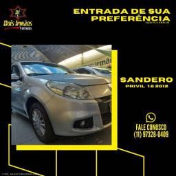 Título do anúncio: Renault Sandero Previlegi 1.6 Automatico 2012