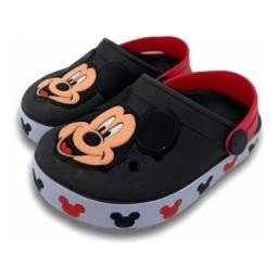 Babuche Chinelo Sandália Infantil Menino - Mickey<br>
