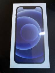 IPhone 12 128GB Preto + Novo + Lacrado + Nota