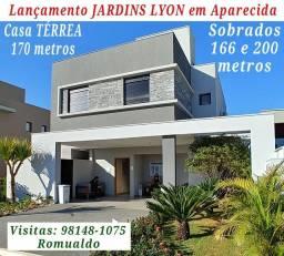 Título do anúncio: Lançamento Jardins Lyon, em Aparecida -mude em 3 anos para seu Sobrado  ou casa Térrea