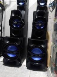 06 caixas de som
