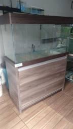 aquario 200ltrs com móvel