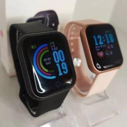 "Título do anúncio: Smartwatch Smart Bracelet D20 D20 D20 1 1.3"" caixa de plástico  pulseira de silicone D20<br><br>"