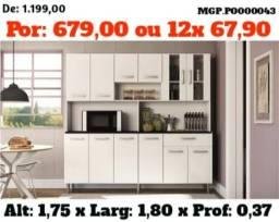 Cozinha Grande- Kit de Cozinha- Armario de Cozinha - Promoção em MS