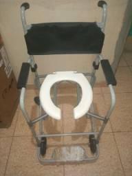 Colchão penelmatico e cadeira de banho