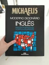 Livro Grande Moderno Dicionário Michaelis - Inglês/português/inglês