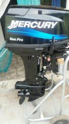 Motor de popa Mercury 25/30 HP - 2013