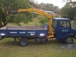 Caminhão munck de pequeno porte ( 1,5 tn )