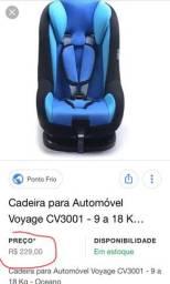 Cadeira para carro Voyage-queimando-