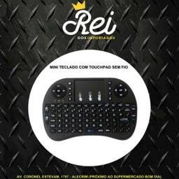 MINI TECLADO com Touch Pad integrado PARA SMART TV, ANDROID, PS3, XBOX, TV BOX