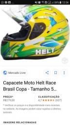 Capacete HELT race