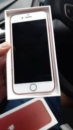 IPhone 7 red 128 gigas