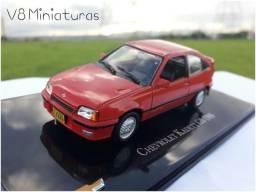 Miniatura Chevrolet Kadett GS 1989 Coleção Chevrolet Collection