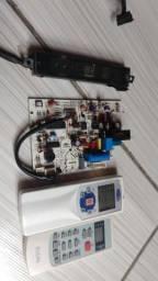 2controle d ar.01 placa. 01 sensor tudo por 100 reais