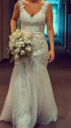 Vendo Maravilhoso Vestido de Noiva Importado